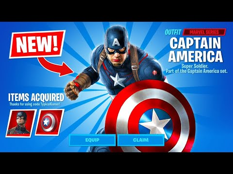 New CAPTAIN AMERICA In Fortnite Item Shop! (Season 3)