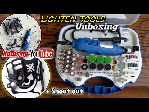 Oxford mini Grinder   Lighten tools   Unboxing & Sample   Tabas fairings   Bobwerkz mmvlog