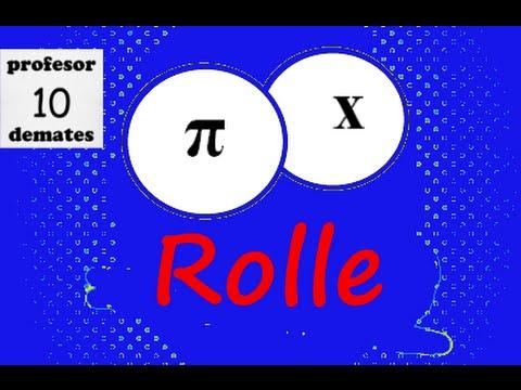 Teorema de Rolle ejercicios resueltos 01