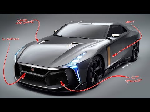Nissan GT-R Re-Design - Could this be the next GT-R?
