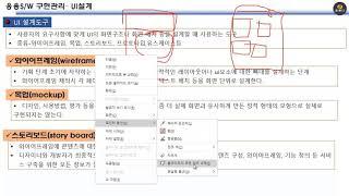 정보처리기사강좌 (UI 개요, 설계도구 및 요구사항확인…