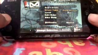 Dave Mirra Bmx Challenge:Manual,Nose Manual(PSP)