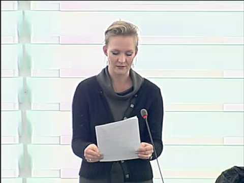 Marietje Schaake - Plenary speech on radio spectrum policy (14-02-2012)