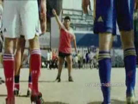 Jose+10 Adidas Commercial 1& 2 (Complete)