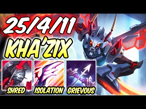 KHA'ZIX JUNGLE INSANE CARRY 1v9 | Build & Runes | Mecha Kha'Zix Jungle | S10 | League of Legends