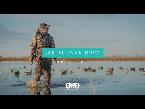 GWG HUNT   Ladies Duck Hunt
