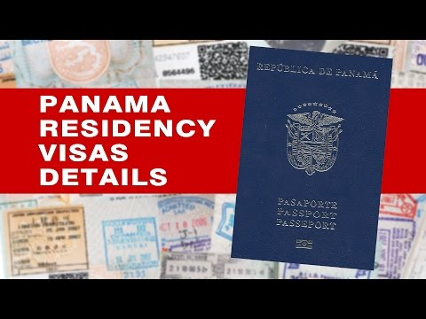 PANAMA PASSPORT, IMMIGRATION & RESIDENCY VISA DETAILS