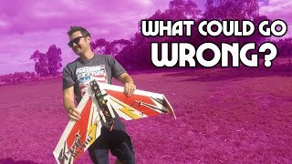 Gambar cover What happens when a COMPLETE BEGINNER flies a HIGH SPEED FPV wing