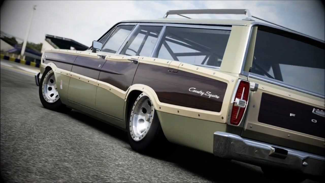 Forza 4 1966 ford country squire family station wagon youtube