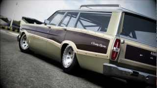 Forza 4: 1966 Ford Country Squire Family Station Wagon!