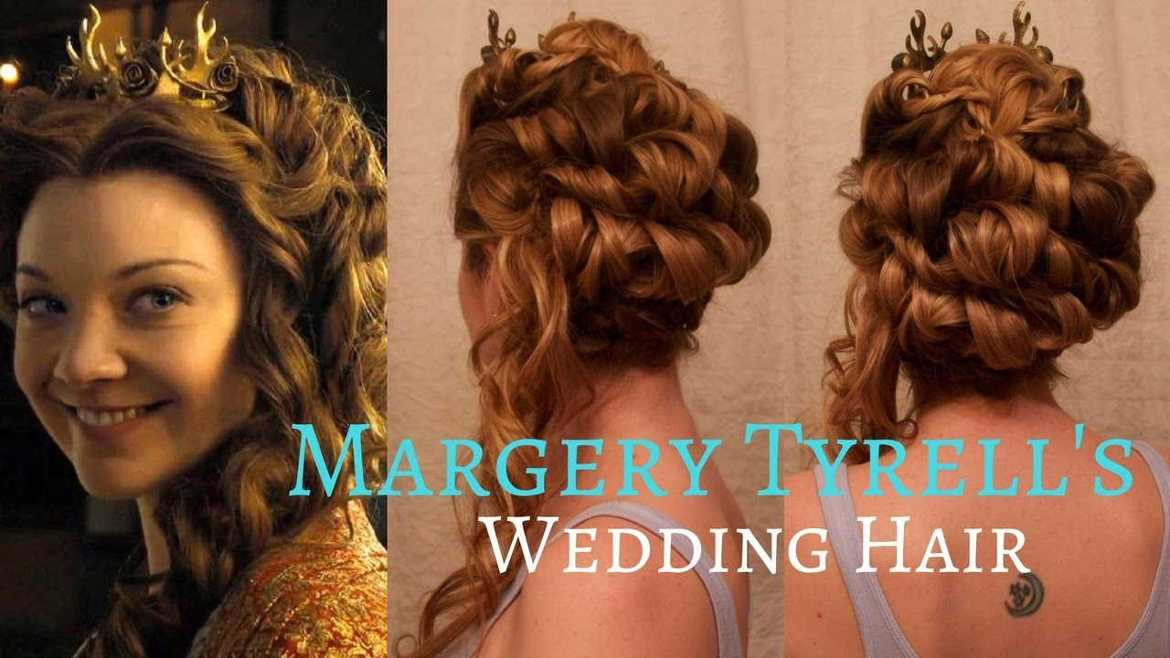 game of thrones inspired hair: margaery tyrell's season 5 wedding hair