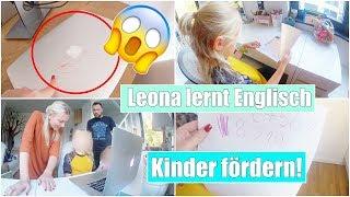Pauline malt Laptop an 😱 | Leona nimmt Nachhilfe & Haus putzen | Isabeau