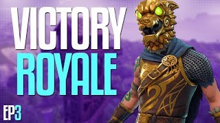 CLUTCH VICTORY ROYALE! Fortnite Battle Royale Gameplay | EP3