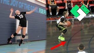 Basketball vs Volleyball! Dual Sport Weekends Return! | Clintus.tv