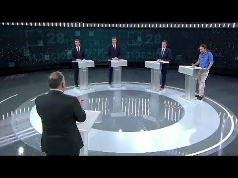 Resultado de imagen de debate 10n tve youtube