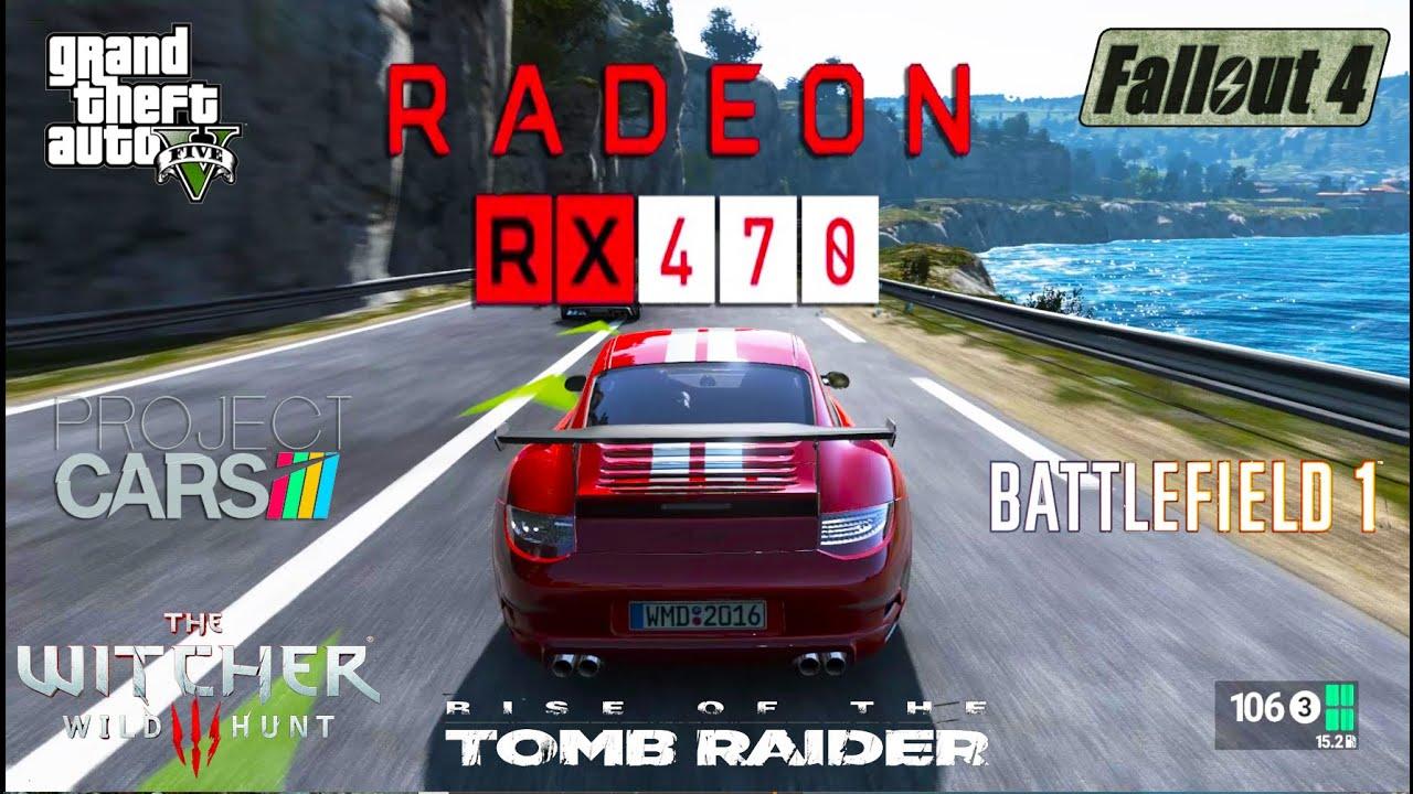 Radeon RX 470 Test in 6 Games (FX 8350)