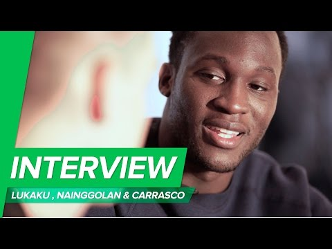 Unisport interview with Lukaku, Nainggolan & Carrasco about EURO2016 and football boots