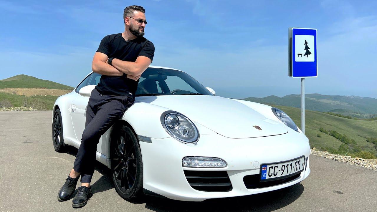 უხეში ტესტ დრაივი – Porsche 911 Carrera S – საეჭვო ადგილას. 4K