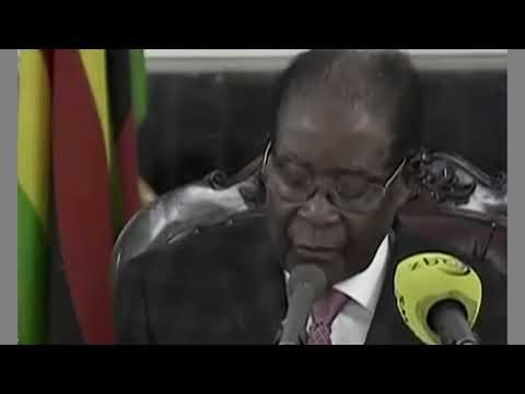 BREAKING NEWS: President Robert Mugabe Refuse To Resign