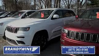 Brandywine Chrysler Jeep Dodge Show - December 2019