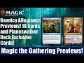 MTG Ravnica Allegiance Previews: 18 Cards and Exclusive Planeswalker Deck Cards
