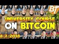Bitcoin news: University has cryptocurrency courses and bitcoin price gains (2018) #Dailymining