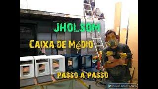 CAIXA MÉDIO  COMO FAZER PASSO A PASSO -JHOLSOM-