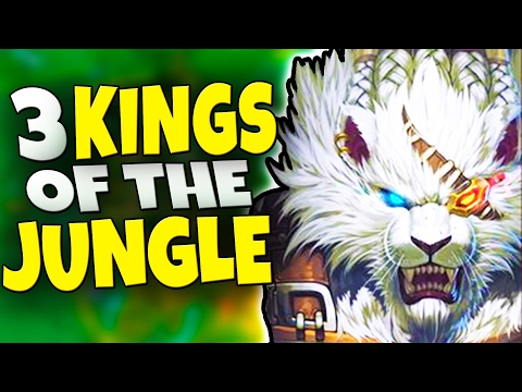THE 3 KINGS OF THE JUNGLE - Godlike Pick/Ban Champions & How to Play Them