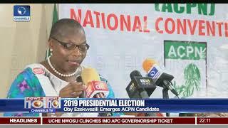 Oby Ezekwesili Emerges ACPN Presidential Candidate