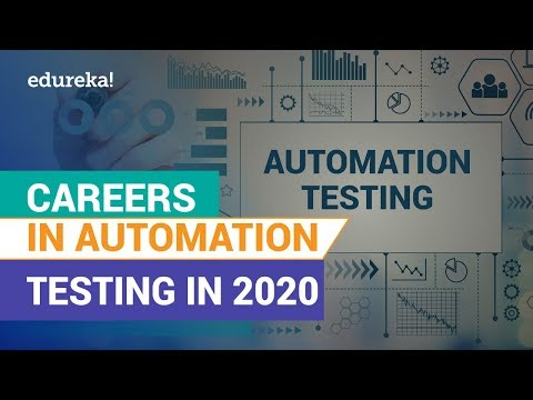 Careers In Automation Testing In 2020 | How To Start A Career In Automation Testing | Edureka