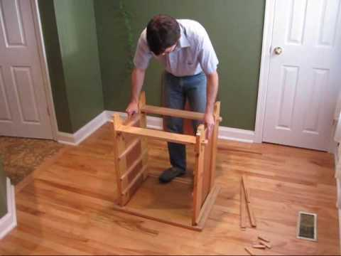 Knock Down Dresser Assembly