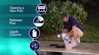 Balance Your Pool Water to the Comfort Zone: Clorox Pool&Spa Step 1