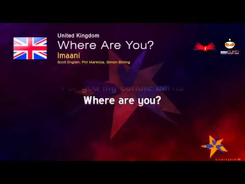Imaani - Where Are You? (United Kingdom) Eurovision Song Contest 1998