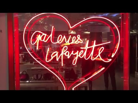Shopping in Paris at Printemps, Galeries Lafayette, and the
