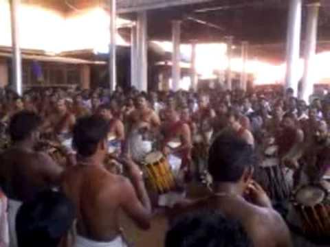 Panchari Melam At Ettumanoor Temble by Mattannoor
