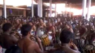 Panchari Melam At Ettumanoor Temble by Mattannoor