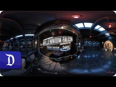 Confira o interior da Millenium Falcon na Star Wars: Galaxy´s Edge da Disneyland