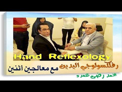 رفلكسولوجي اليدين Hand Reflexology