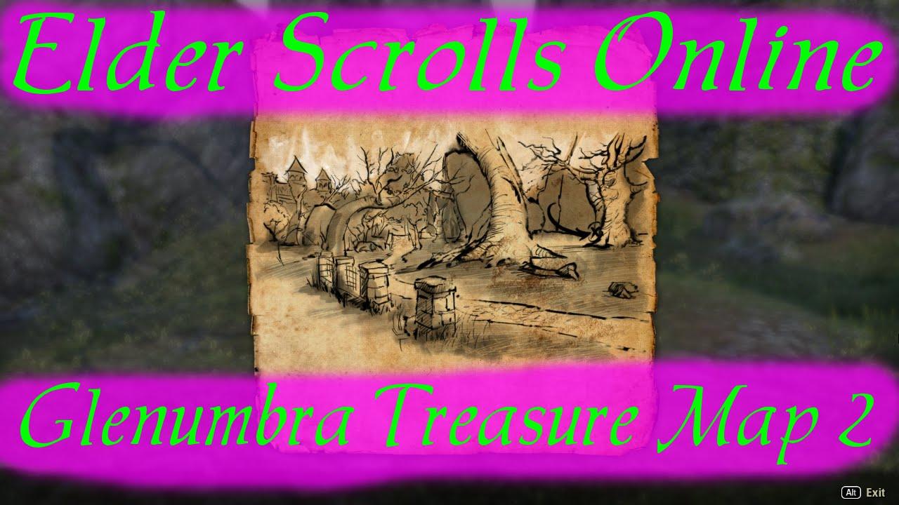 Glenum Treasure Map 2 [Elder Scrolls Online] on
