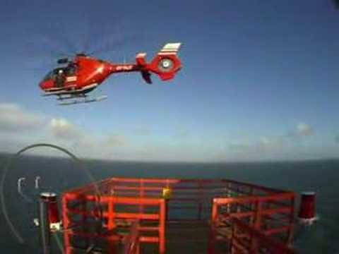 Helicopter Hoist Offshore Windturbines