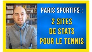 2 sites de stats pour le tennis paris sportifs