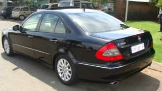 2007 MERCEDES-BENZ E-CLASS E350 Elegance 7-Gear Tronic Auto For Sale On Auto Trader South Africa