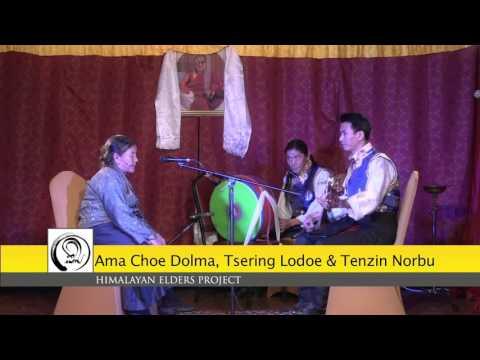 Ama Choe Dolma  White Mountain  Himalayan Elders Project Nov. 2015
