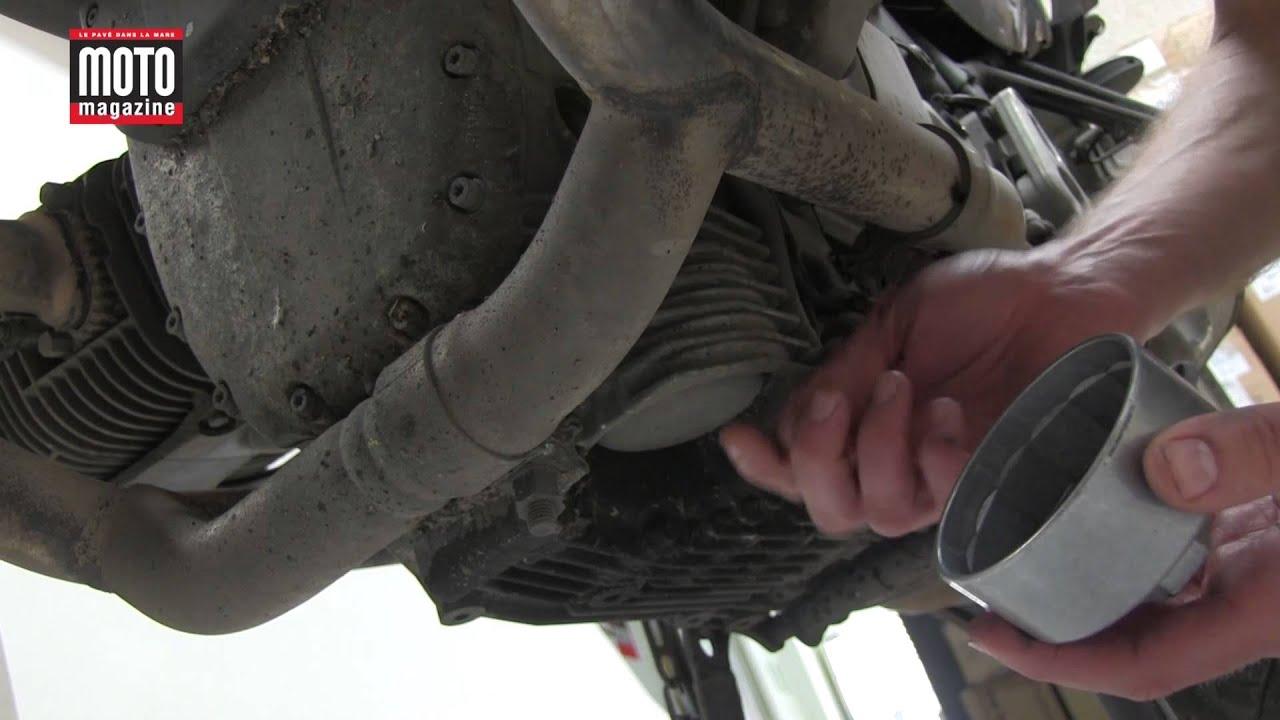 Démonter son filtre à huile moto facilement - tuto mécanique - YouTube