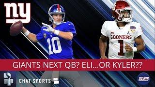 New York Giants Rumors: Eli Manning's Future, Kyler Murray NFL Draft Rumors Involving Giants