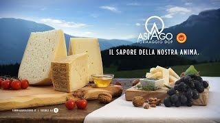"""Spot del formaggio Asiago DOP """"Il sapore della nostra anima"""""""