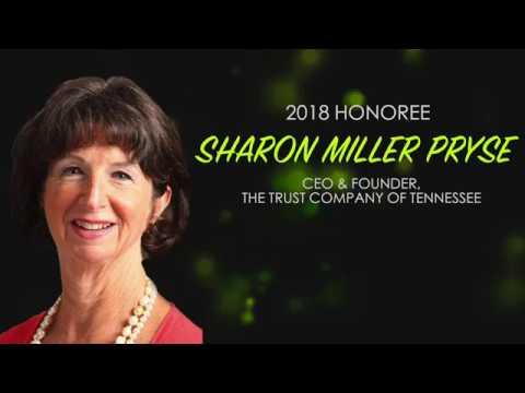 James A Haslam II Chairman's Leadership Award: Sharon Miller Pryse