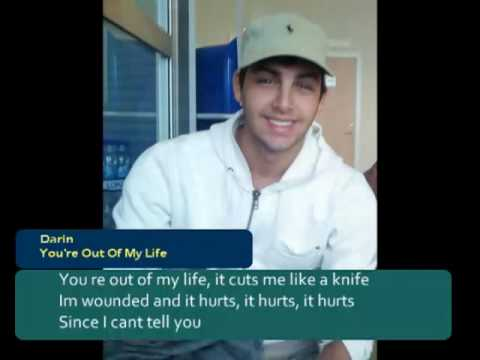 Darin - You're Out Of My Life (Instrumental Karaoke Version) with Lyrics