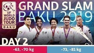 Judo Grand-Slam Baku 2019: Day 2
