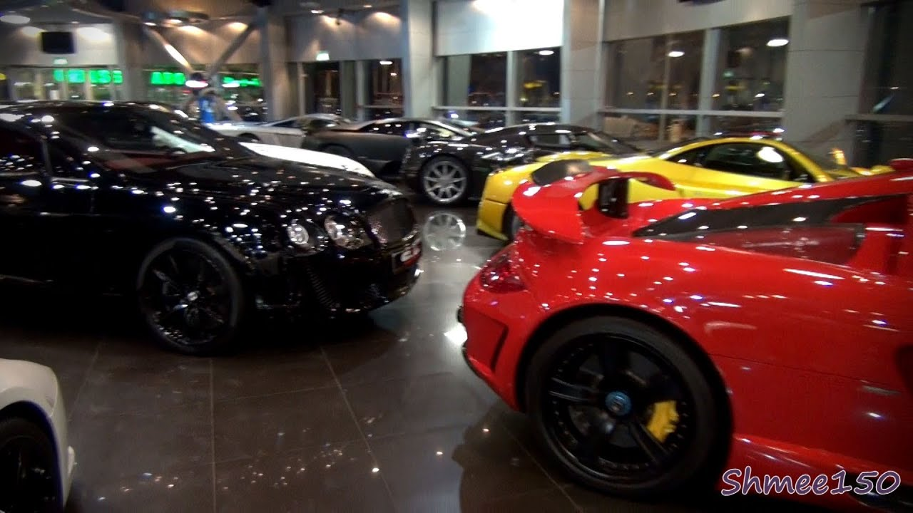 The Best Supercar Showroom In The World Alain Class Dubai